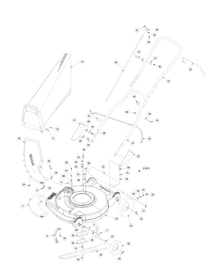 SABER EDGE LM-21ABS PARTS BREAKDOWN