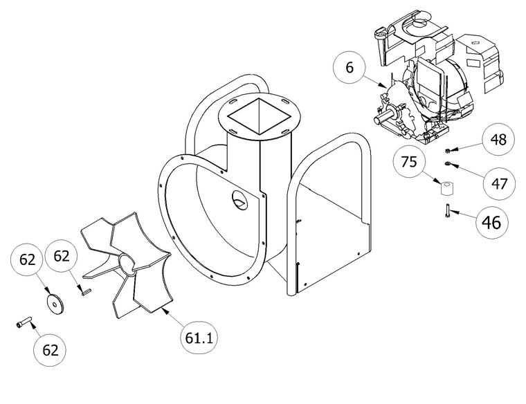 Fradan LV-14RS Engine Housing
